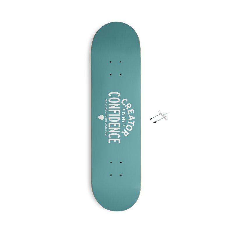 Creator  + WalkingStick Design Co. Accessories With Hanging Hardware Skateboard by WalkingStick Design's Artist Shop