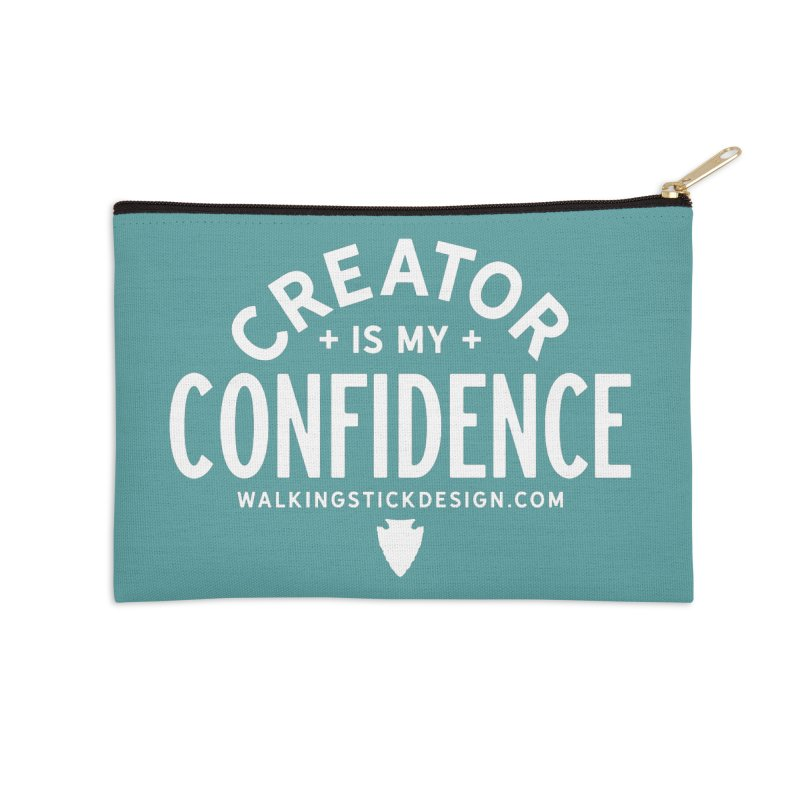 Creator  + WalkingStick Design Co. Accessories Zip Pouch by WalkingStick Design's Artist Shop