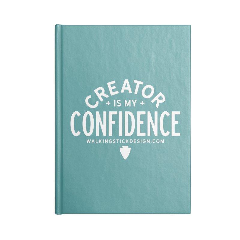 Creator  + WalkingStick Design Co. Accessories Blank Journal Notebook by WalkingStick Design's Artist Shop