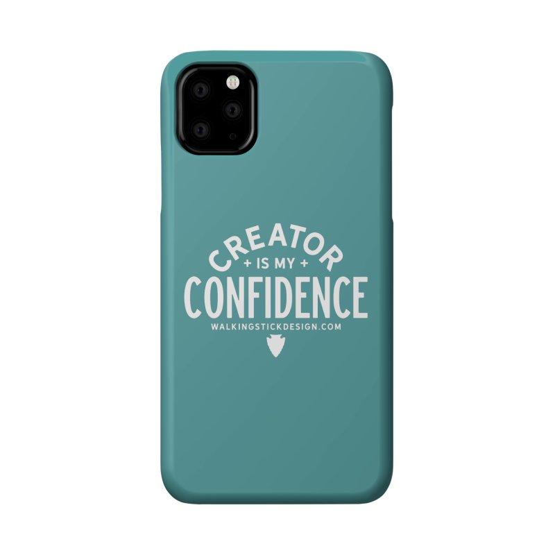 Creator  + WalkingStick Design Co. Accessories Phone Case by WalkingStick Design's Artist Shop