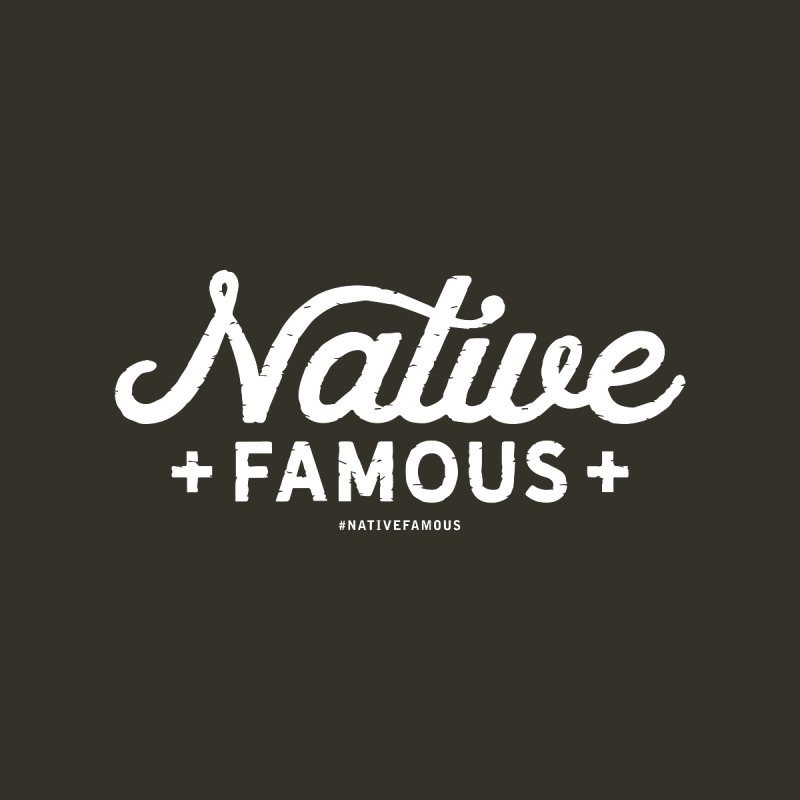 Native Famous + WalkingStick Design Co. Home Framed Fine Art Print by WalkingStick Design's Artist Shop