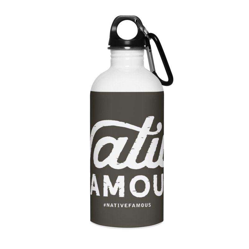 Native Famous + WalkingStick Design Co. Accessories Water Bottle by WalkingStick Design's Artist Shop
