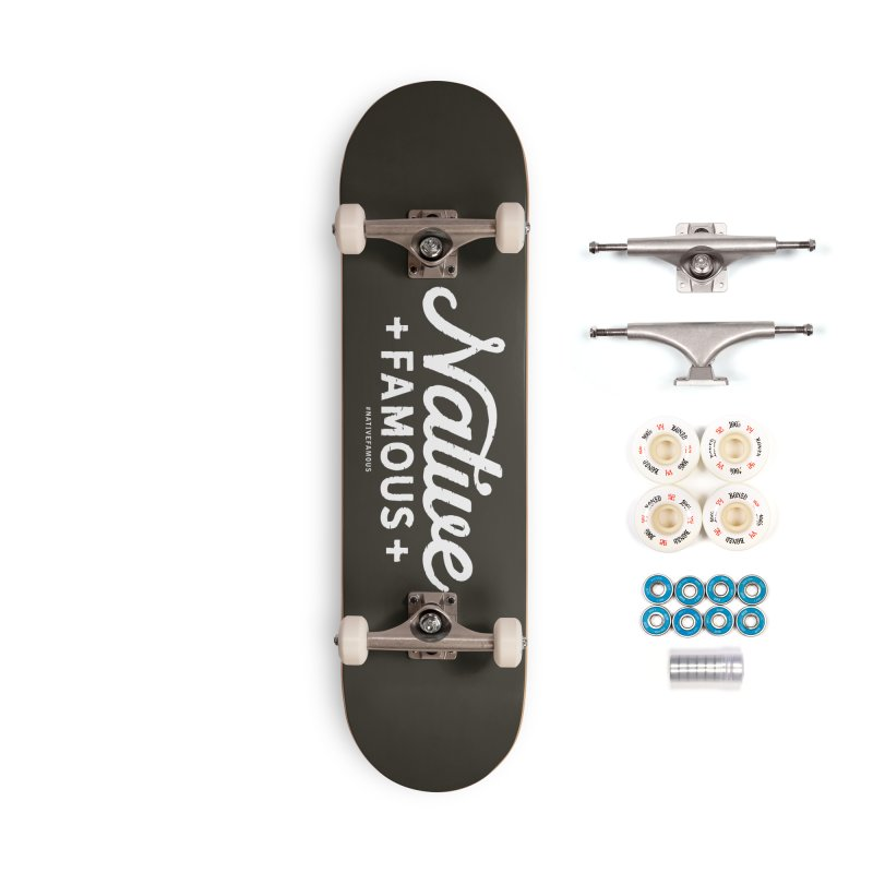 Native Famous + WalkingStick Design Co. Accessories Complete - Premium Skateboard by WalkingStick Design's Artist Shop