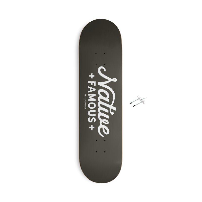 Native Famous + WalkingStick Design Co. Accessories With Hanging Hardware Skateboard by WalkingStick Design's Artist Shop
