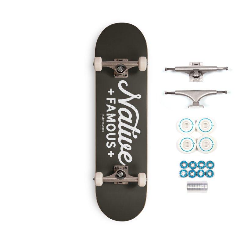 Native Famous + WalkingStick Design Co. Accessories Complete - Basic Skateboard by WalkingStick Design's Artist Shop