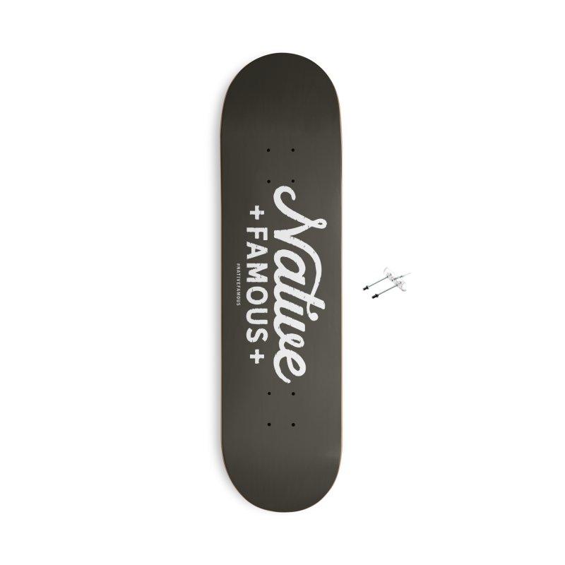 Native Famous + WalkingStick Design Co. Accessories Skateboard by WalkingStick Design's Artist Shop