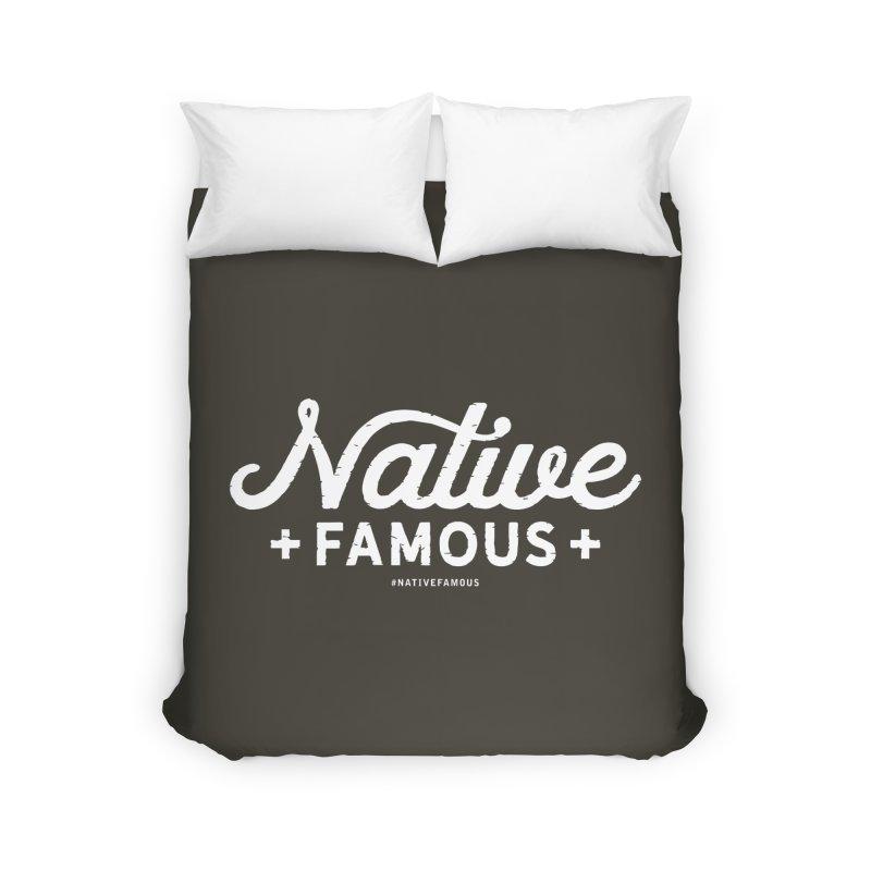 Native Famous + WalkingStick Design Co. Home Duvet by WalkingStick Design's Artist Shop