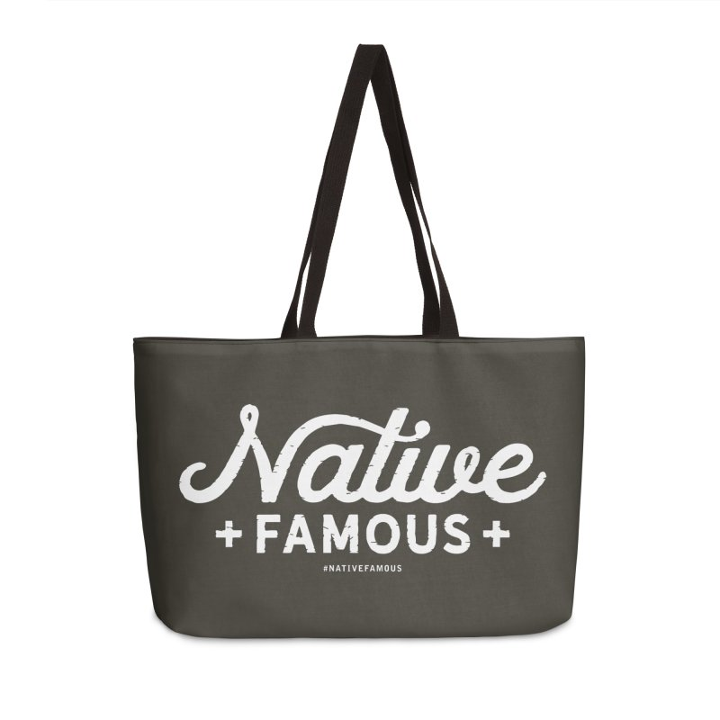 Native Famous + WalkingStick Design Co. Accessories Weekender Bag Bag by WalkingStick Design's Artist Shop