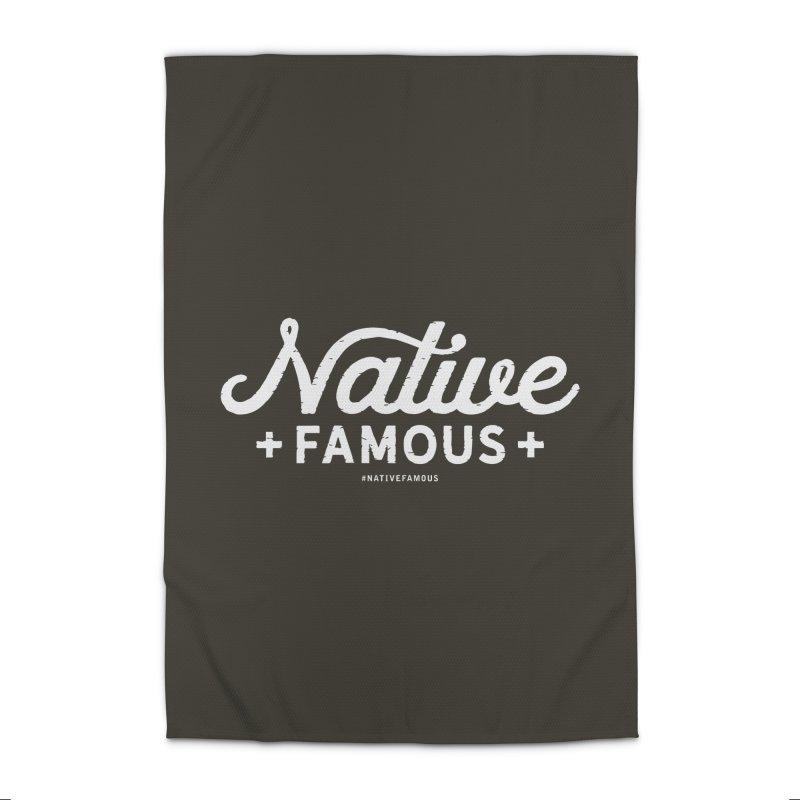 Native Famous + WalkingStick Design Co. Home Rug by WalkingStick Design's Artist Shop