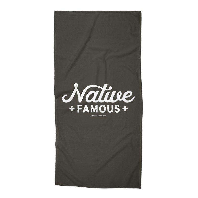 Native Famous + WalkingStick Design Co. Accessories Beach Towel by WalkingStick Design's Artist Shop