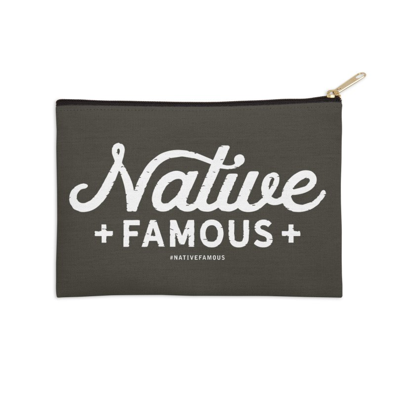 Native Famous + WalkingStick Design Co. Accessories Zip Pouch by WalkingStick Design's Artist Shop
