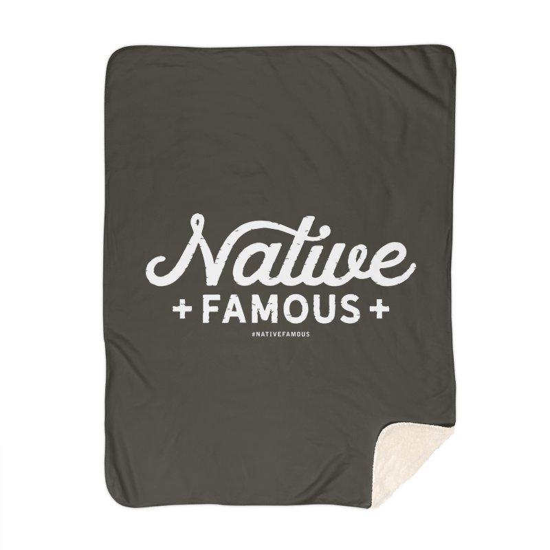 Native Famous + WalkingStick Design Co. Home Blanket by WalkingStick Design's Artist Shop