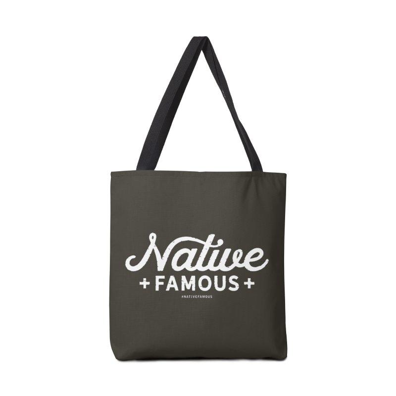 Native Famous + WalkingStick Design Co. Accessories Tote Bag Bag by WalkingStick Design's Artist Shop