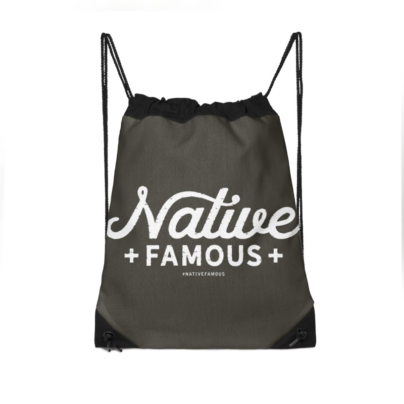 Native Famous + WalkingStick Design Co. Accessories Bag by WalkingStick Design's Artist Shop