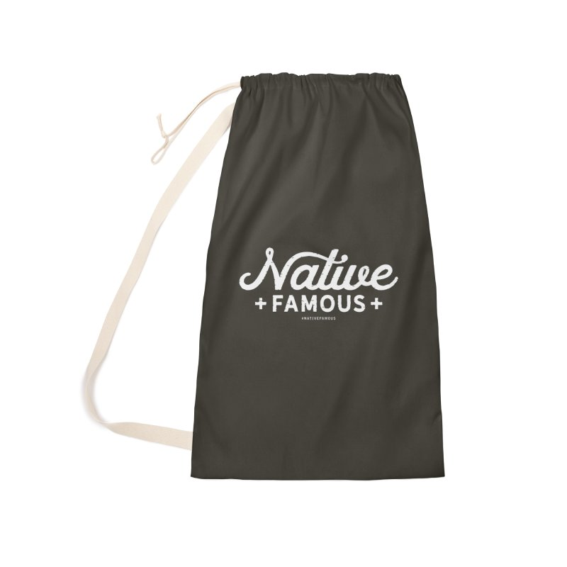 Native Famous + WalkingStick Design Co. Accessories Laundry Bag Bag by WalkingStick Design's Artist Shop