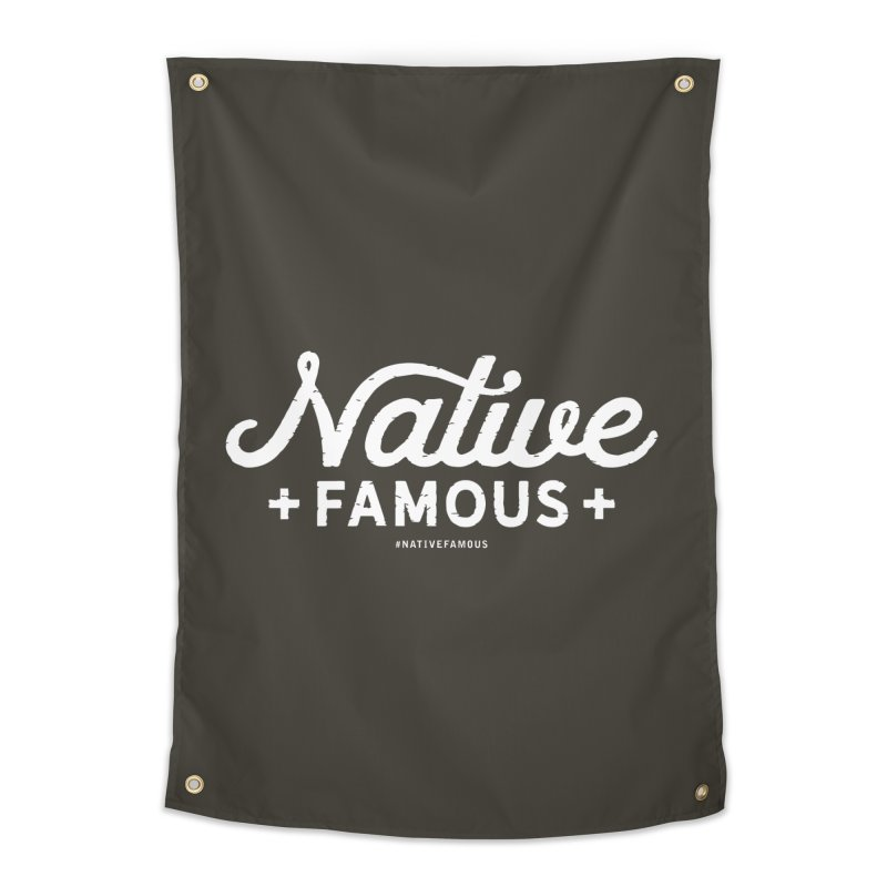 Native Famous + WalkingStick Design Co. Home Tapestry by WalkingStick Design's Artist Shop