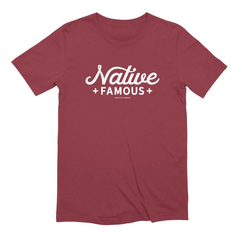 Native Famous + WalkingStick Design Co. Men's Extra Soft T-Shirt by WalkingStick Design's Artist Shop