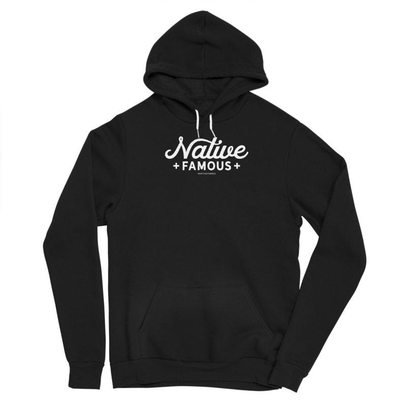 Native Famous + WalkingStick Design Co. Men's Pullover Hoody by WalkingStick Design's Artist Shop