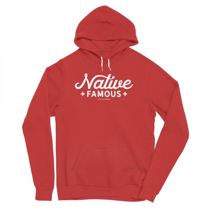 Native Famous + WalkingStick Design Co. Women's Sponge Fleece Pullover Hoody by WalkingStick Design's Artist Shop