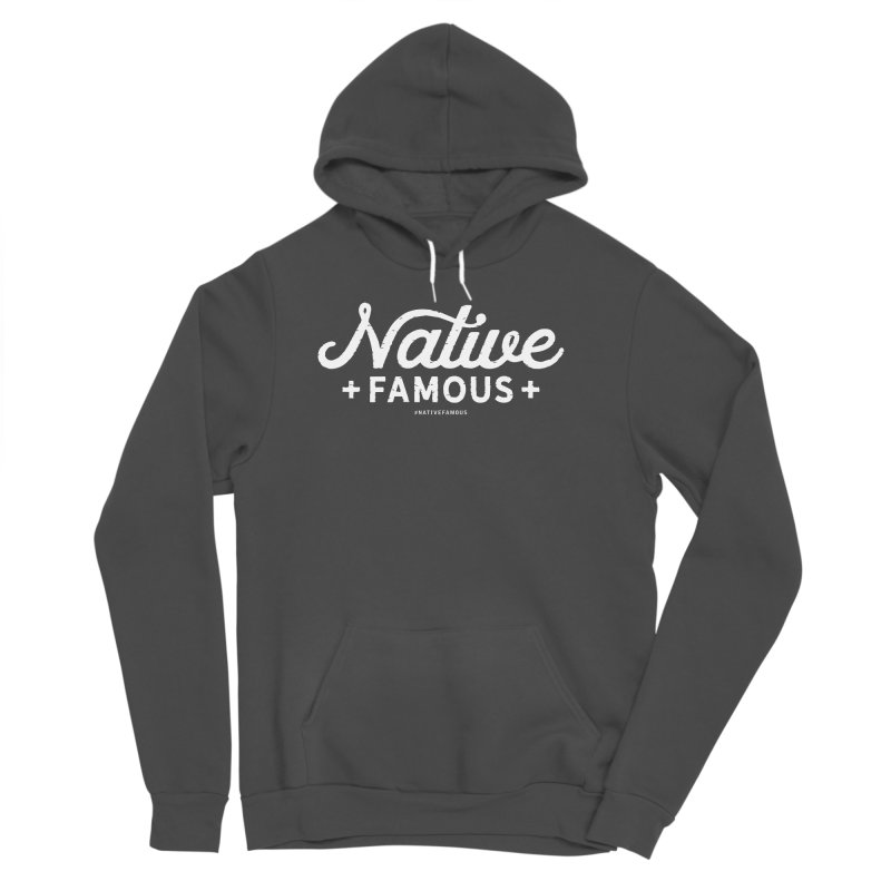 Native Famous + WalkingStick Design Co. Men's Sponge Fleece Pullover Hoody by WalkingStick Design's Artist Shop