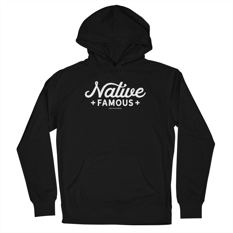 Native Famous + WalkingStick Design Co. Men's French Terry Pullover Hoody by WalkingStick Design's Artist Shop