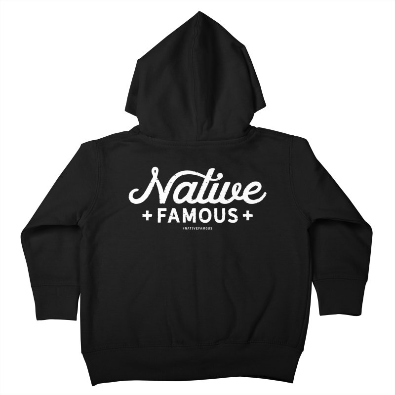 Native Famous + WalkingStick Design Co. Kids Toddler Zip-Up Hoody by WalkingStick Design's Artist Shop