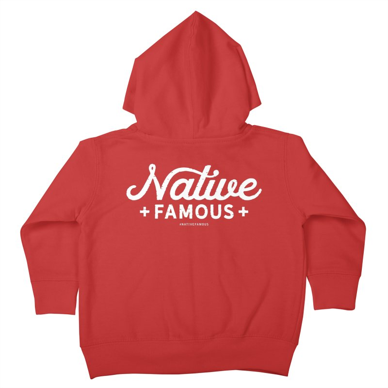 Native Famous + WalkingStick Design Co. Kids Toddler Zip-Up Hoody by WalkingStick Design's Artist Shop