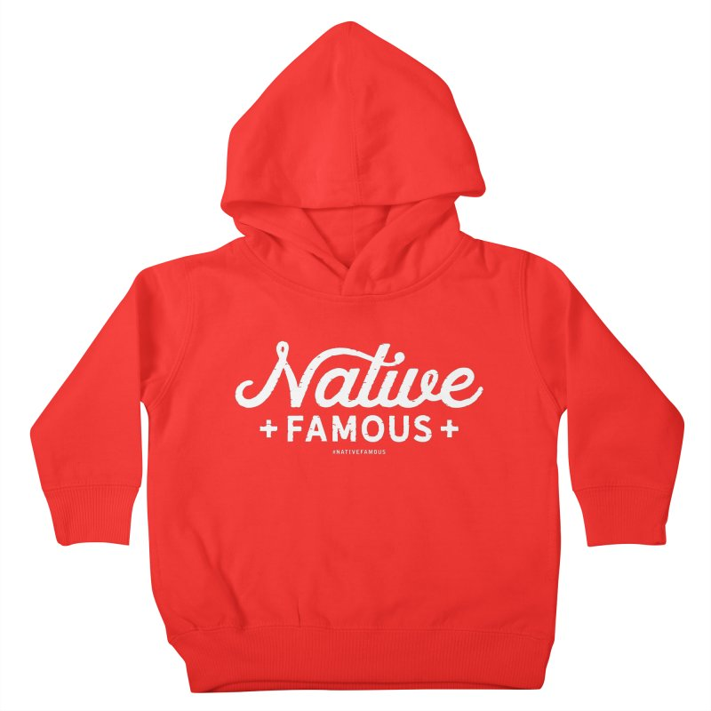 Native Famous + WalkingStick Design Co. Kids Toddler Pullover Hoody by WalkingStick Design's Artist Shop