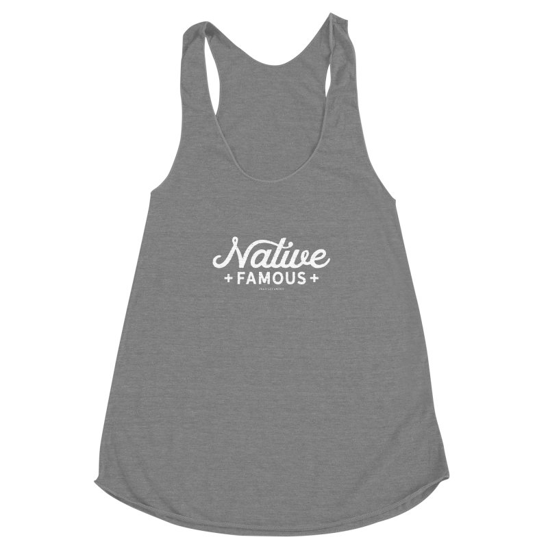 Native Famous + WalkingStick Design Co. Women's Racerback Triblend Tank by WalkingStick Design's Artist Shop