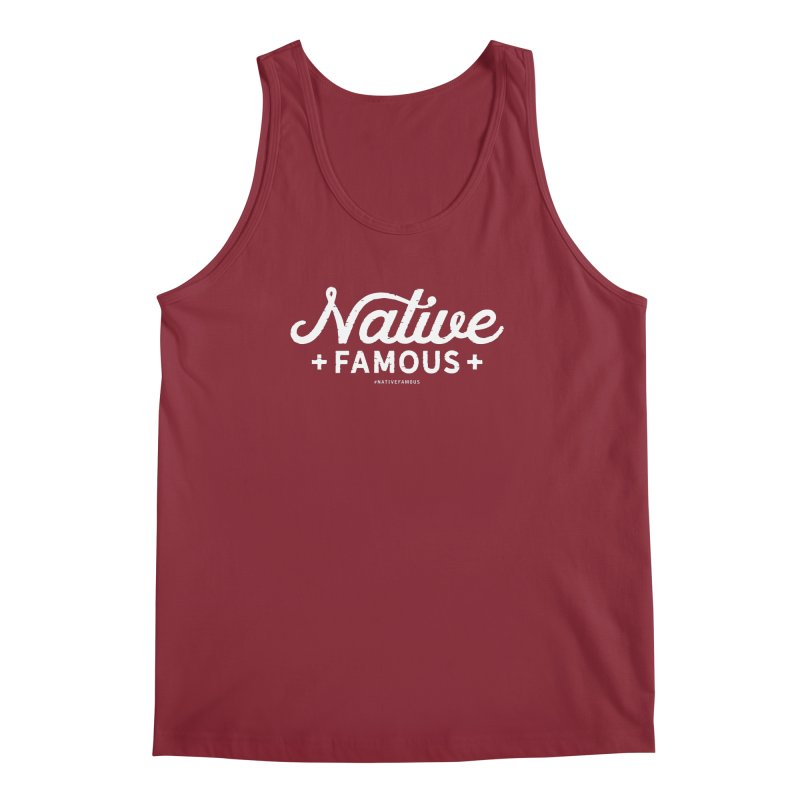 Native Famous + WalkingStick Design Co. Men's Regular Tank by WalkingStick Design's Artist Shop