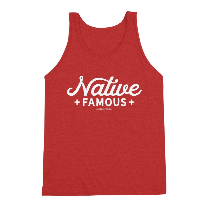 Native Famous + WalkingStick Design Co. Men's Tank by WalkingStick Design's Artist Shop