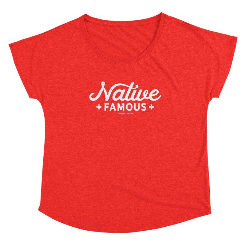 Native Famous + WalkingStick Design Co. Women's Scoop Neck by WalkingStick Design's Artist Shop