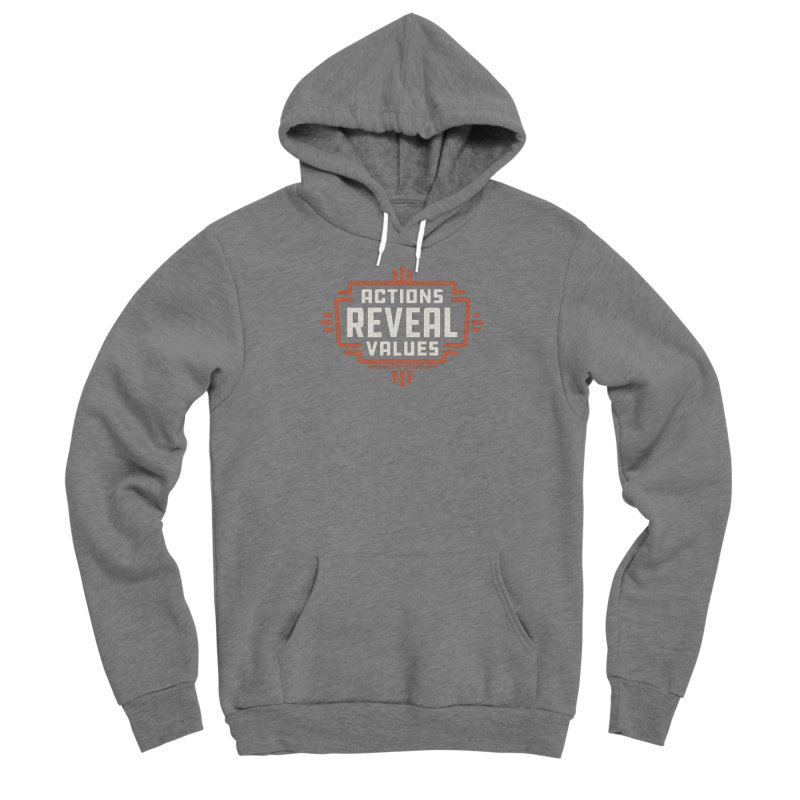 ACTIONS + WALKINGSTICK DESIGN CO. Men's Pullover Hoody by WalkingStick Design's Artist Shop