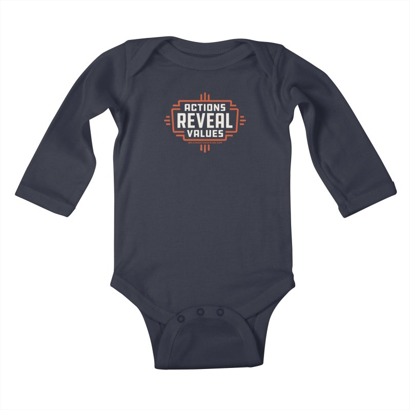 ACTIONS + WALKINGSTICK DESIGN CO. Kids Baby Longsleeve Bodysuit by WalkingStick Design's Artist Shop