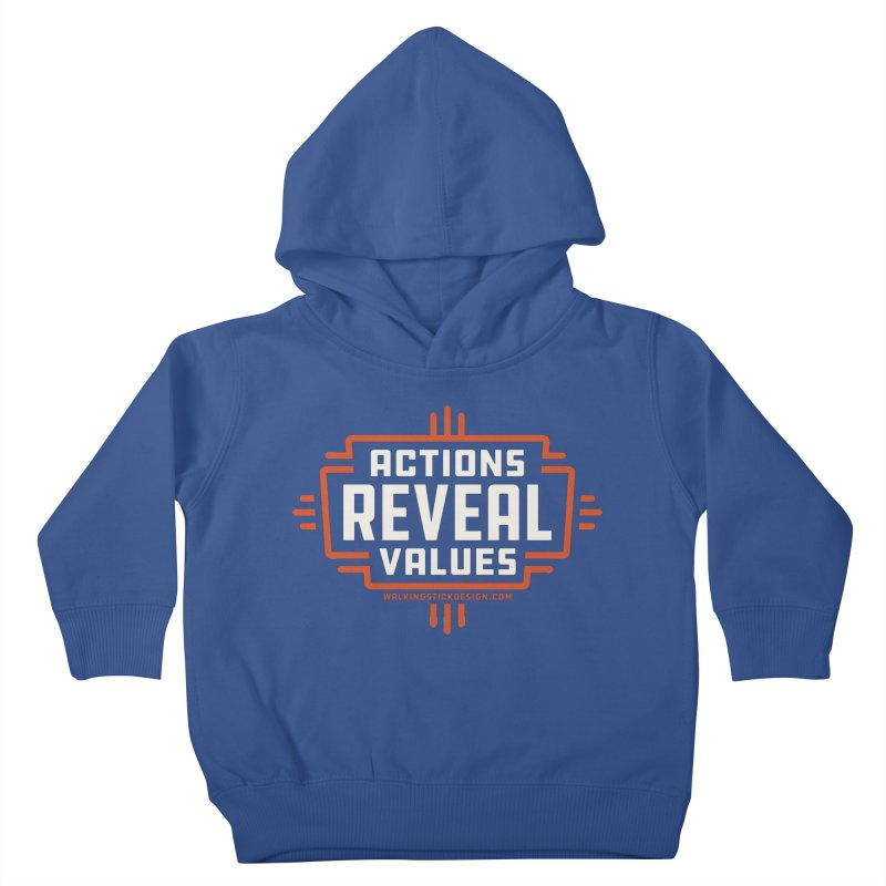ACTIONS + WALKINGSTICK DESIGN CO. Kids Toddler Pullover Hoody by WalkingStick Design's Artist Shop