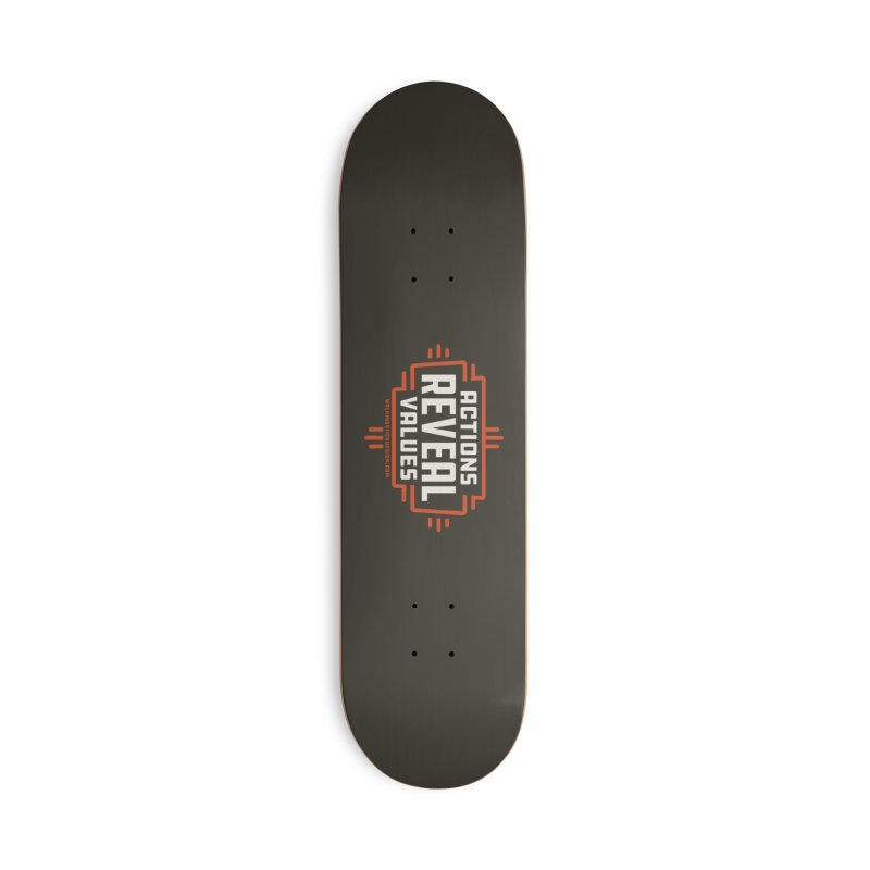 ACTIONS + WALKINGSTICK DESIGN CO. Accessories Deck Only Skateboard by WalkingStick Design's Artist Shop