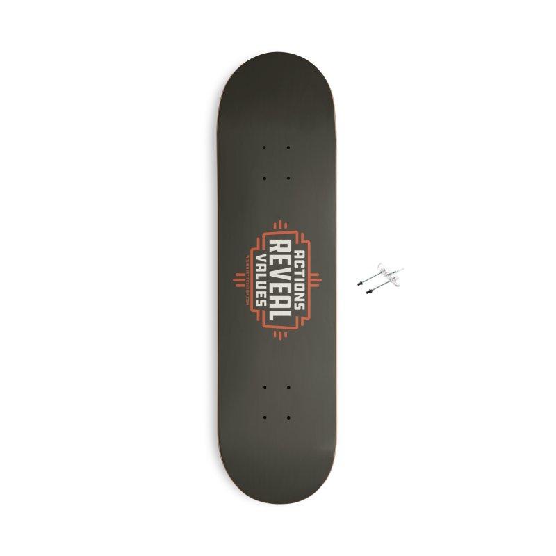 ACTIONS + WALKINGSTICK DESIGN CO. Accessories Skateboard by WalkingStick Design's Artist Shop
