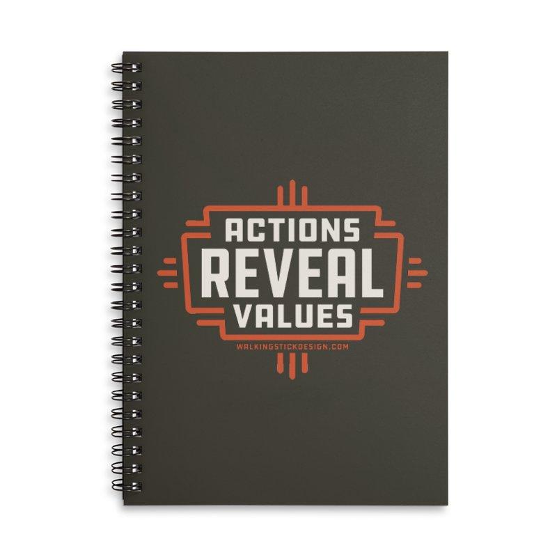 ACTIONS + WALKINGSTICK DESIGN CO. Accessories Notebook by WalkingStick Design's Artist Shop