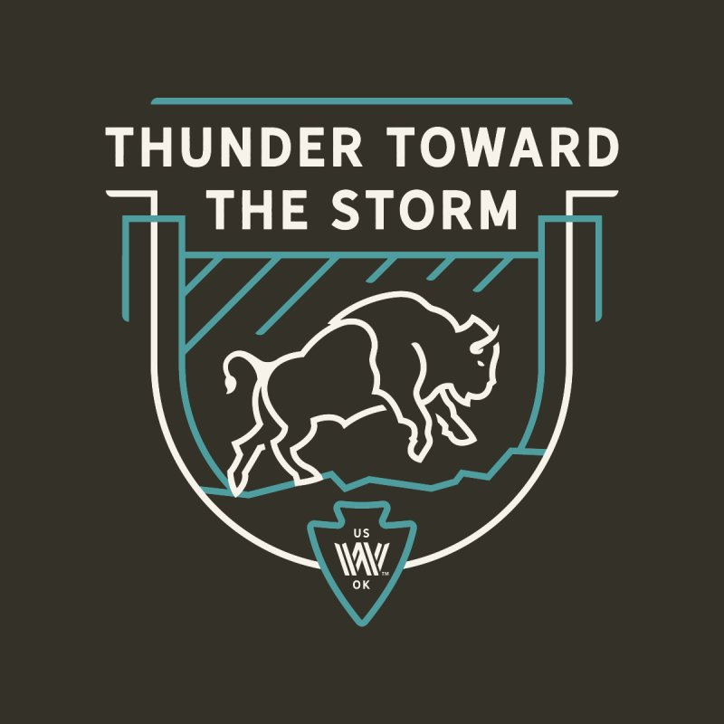 STORM + WALKINGSTICK DESIGN CO. Women's T-Shirt by WalkingStick Design's Artist Shop