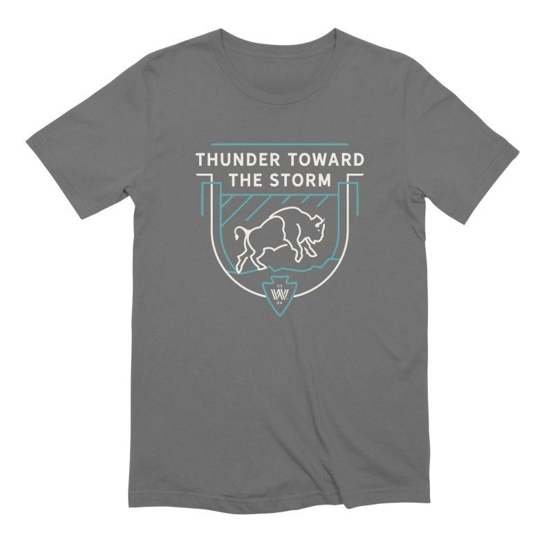 STORM + WALKINGSTICK DESIGN CO. Men's T-Shirt by WalkingStick Design's Artist Shop