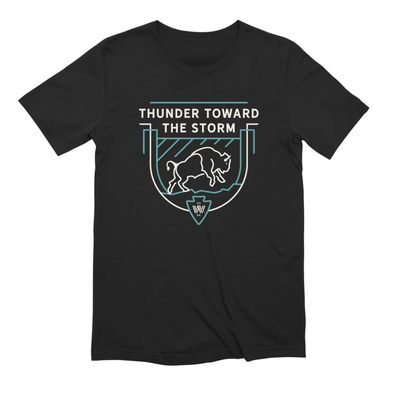 STORM + WALKINGSTICK DESIGN CO. Men's Extra Soft T-Shirt by WalkingStick Design's Artist Shop