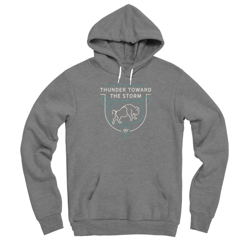 STORM + WALKINGSTICK DESIGN CO. Men's Pullover Hoody by WalkingStick Design's Artist Shop