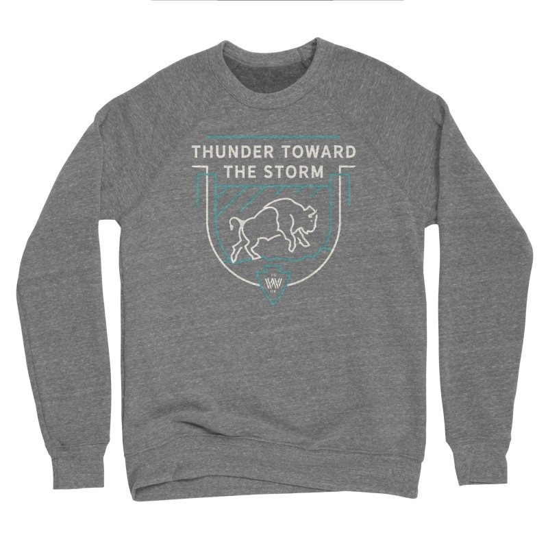 STORM + WALKINGSTICK DESIGN CO. Women's Sweatshirt by WalkingStick Design's Artist Shop