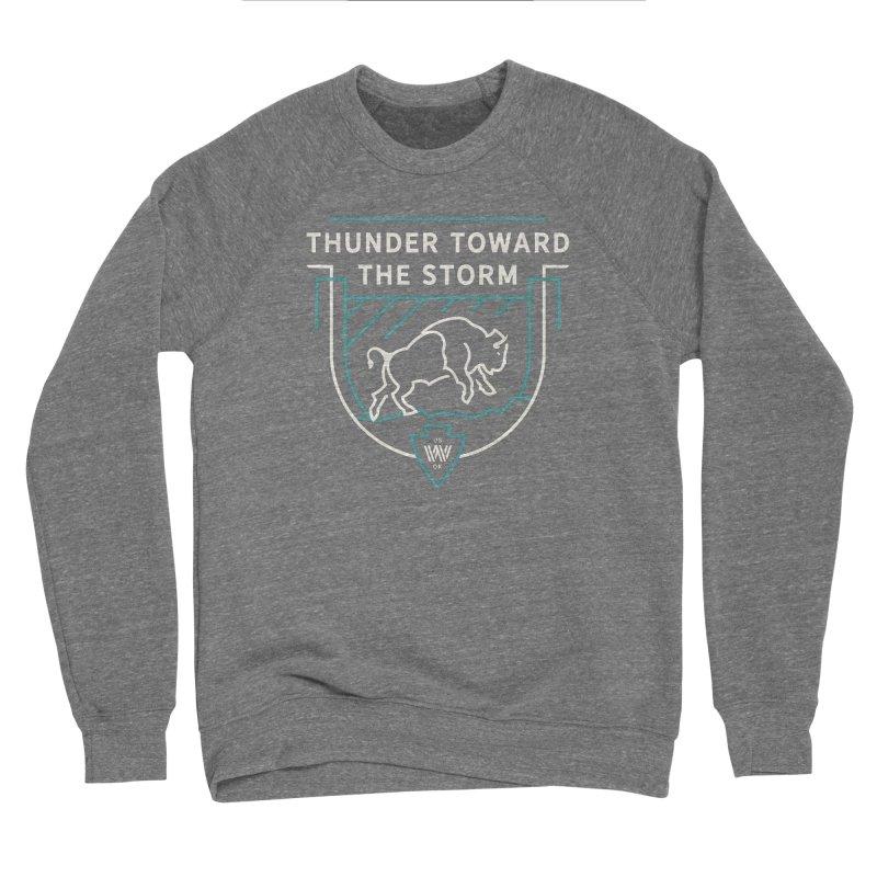 STORM + WALKINGSTICK DESIGN CO. Women's Sweatshirt by WalkingStick Design's Artist Shop