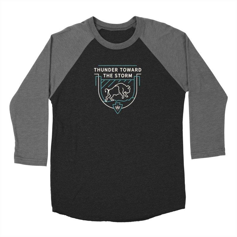 STORM + WALKINGSTICK DESIGN CO. Women's Longsleeve T-Shirt by WalkingStick Design's Artist Shop