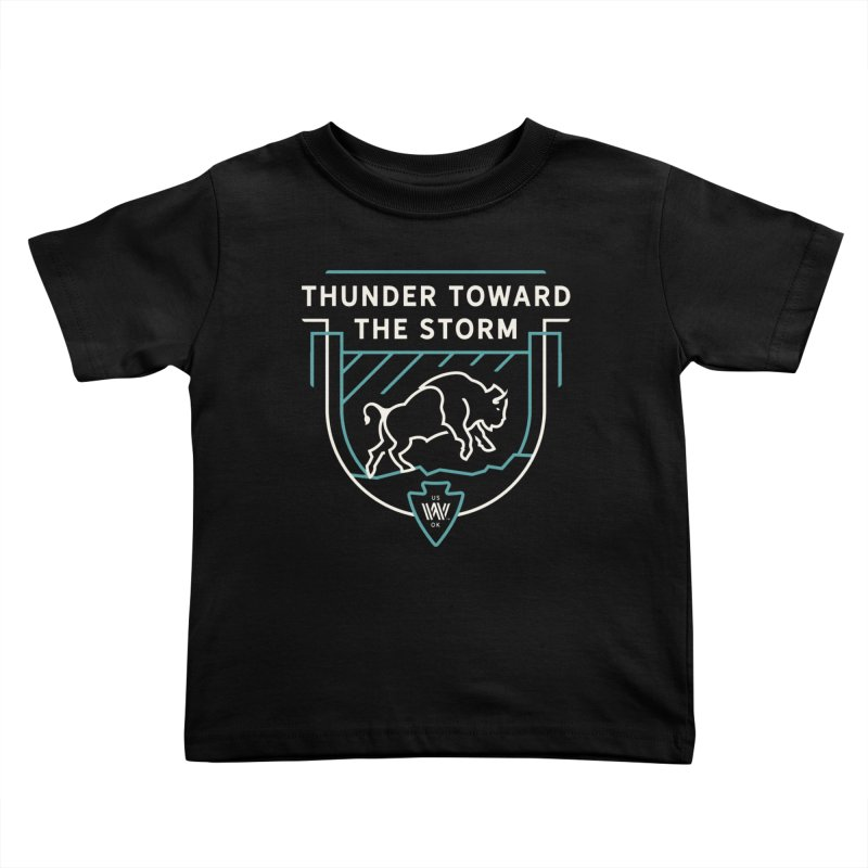 STORM + WALKINGSTICK DESIGN CO. Kids Toddler T-Shirt by WalkingStick Design's Artist Shop