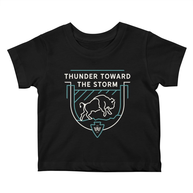 STORM + WALKINGSTICK DESIGN CO. Kids Baby T-Shirt by WalkingStick Design's Artist Shop