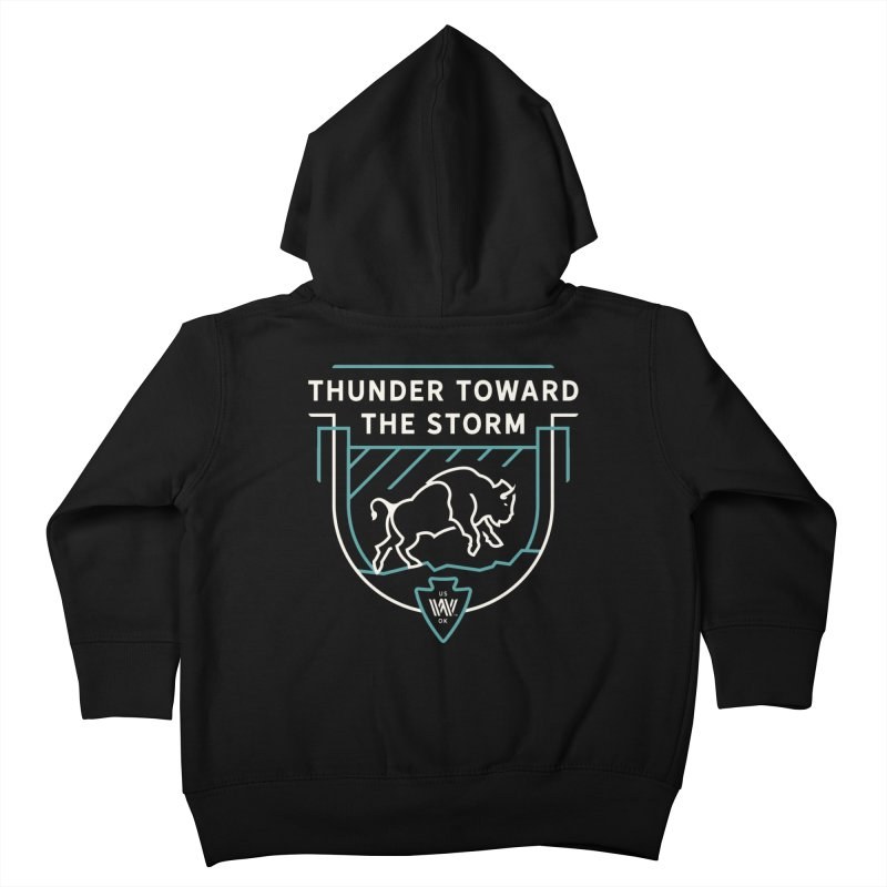STORM + WALKINGSTICK DESIGN CO. Kids Toddler Zip-Up Hoody by WalkingStick Design's Artist Shop
