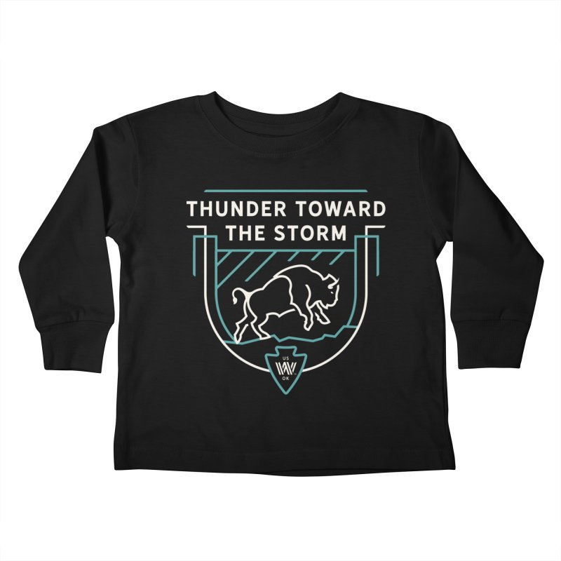 STORM + WALKINGSTICK DESIGN CO. Kids Toddler Longsleeve T-Shirt by WalkingStick Design's Artist Shop