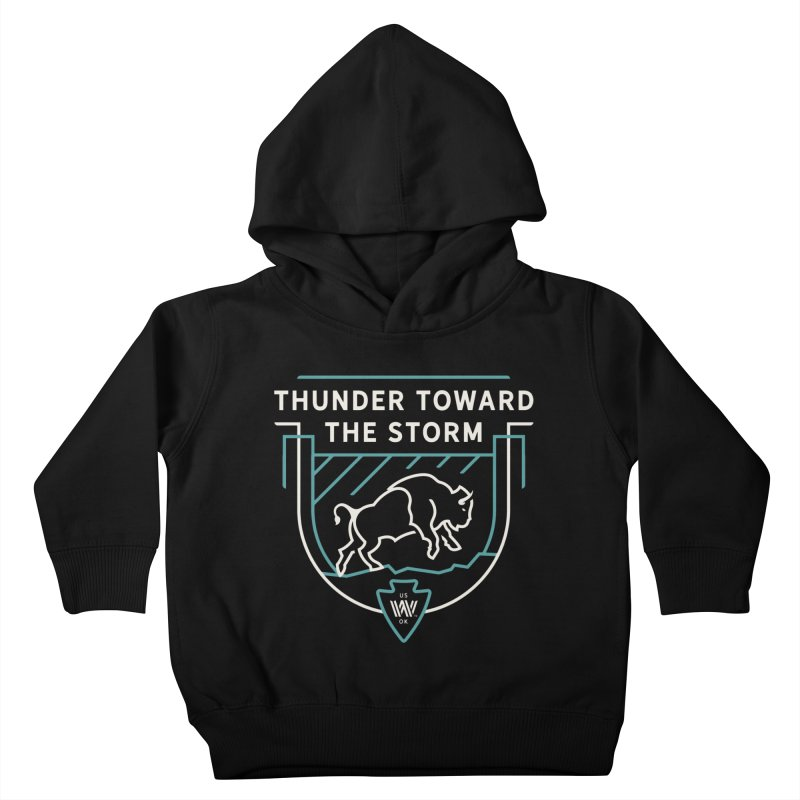 STORM + WALKINGSTICK DESIGN CO. Kids Toddler Pullover Hoody by WalkingStick Design's Artist Shop